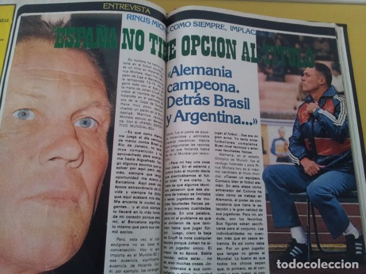 Coleccionismo deportivo: TOMO ENCUADERNADO - REVISTAS DE FUTBOL - VARIOS (ONCE, ÍDOLOS, DEPORTES EN ACCIÓN, AS EXTRA Y FUTGOL - Foto 14 - 219518283