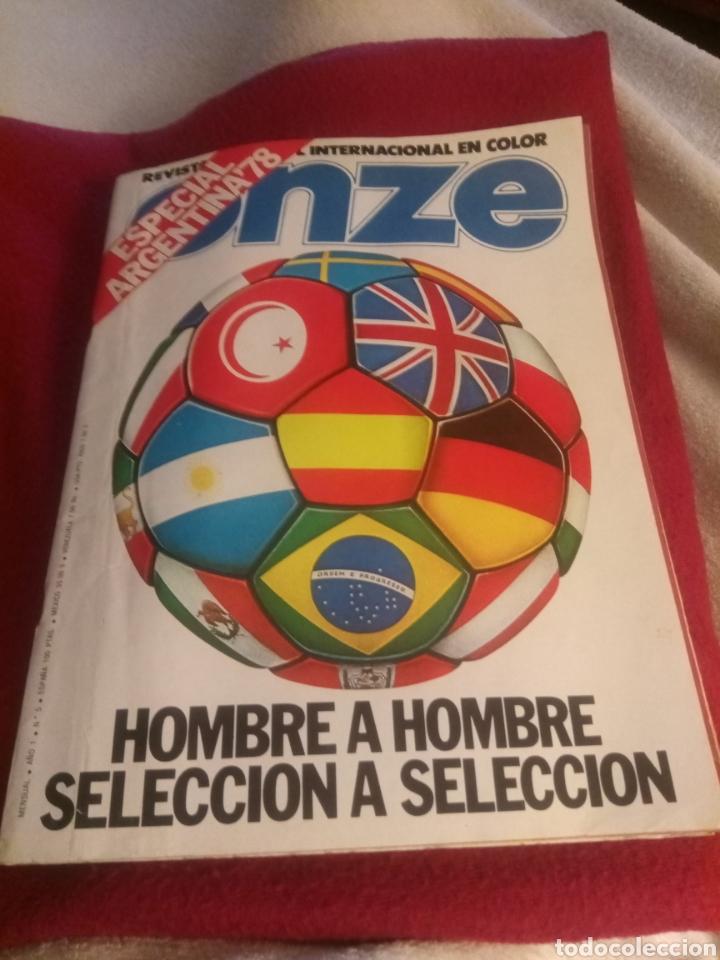 REVISTA DEPORTES ONZE. ESPECIAL ARGENTINA 78. 84 PÁGINAS. (Coleccionismo Deportivo - Revistas y Periódicos - otros Fútbol)