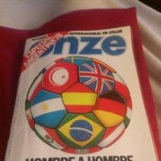 Coleccionismo deportivo: REVISTA DEPORTES ONZE. ESPECIAL ARGENTINA 78. 84 PÁGINAS.. Lote 219550925