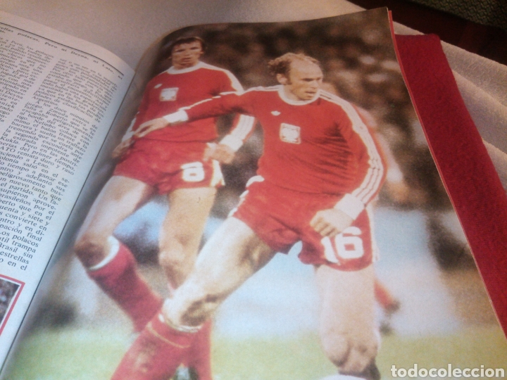 Coleccionismo deportivo: Revista deportes ONZE. Especial Argentina 78. 84 páginas. - Foto 7 - 219550925