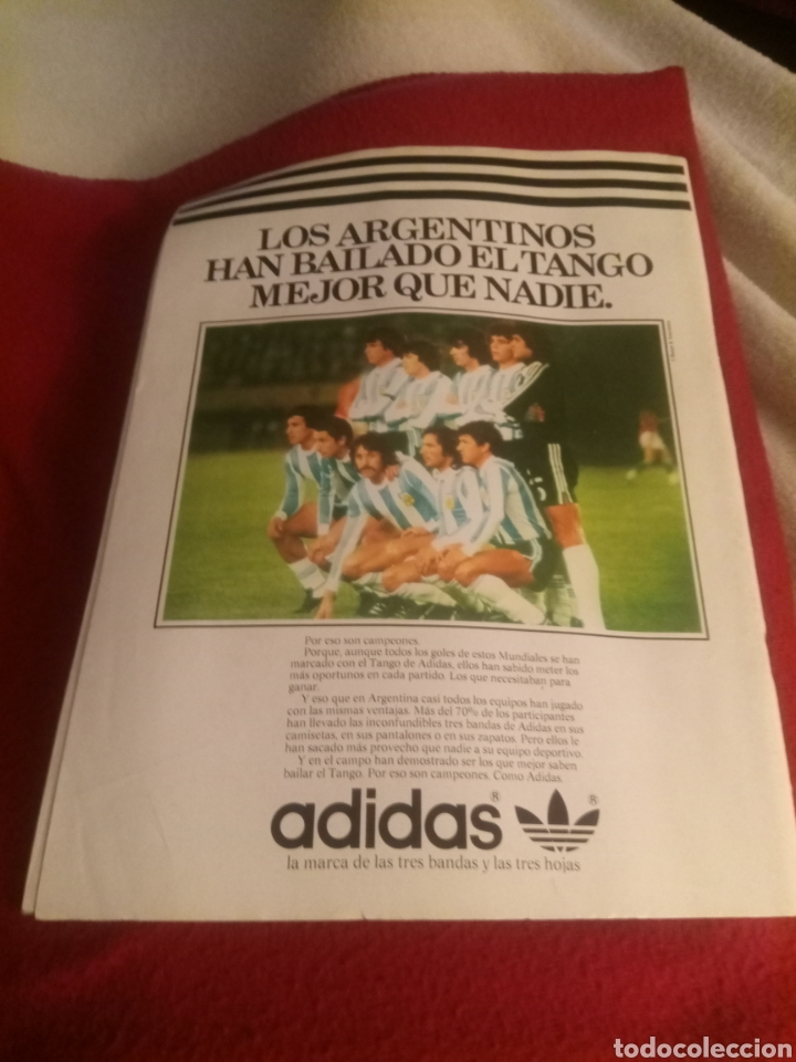 Coleccionismo deportivo: Revista deportes ONZE. Especial Argentina 78. 84 páginas. - Foto 2 - 219550925