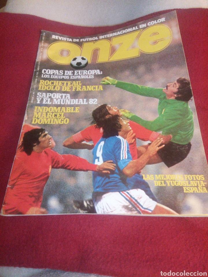 REVISTA DEPORTES ONZE. 1978. 84 PÁGINAS (FALTAN DE LA 35 A LA 50) (Coleccionismo Deportivo - Revistas y Periódicos - otros Fútbol)