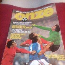 Coleccionismo deportivo: REVISTA DEPORTES ONZE. 1978. 84 PÁGINAS (FALTAN DE LA 35 A LA 50). Lote 219551920