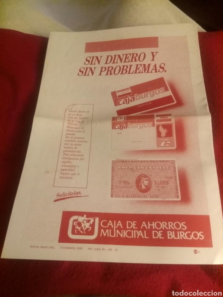 Coleccionismo deportivo: Revista El Plantío. 1990. Referida al partido Burgos - Logroñés . Previa partido Sporting Gijón. - Foto 5 - 219552841