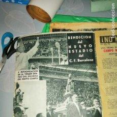 Coleccionismo deportivo: DICEN. 28.09.1957. INAUGURACIÓN CAMP NOU.. Lote 219708236