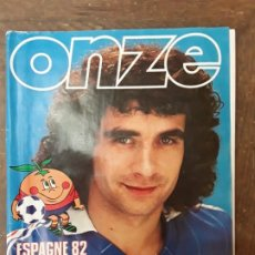 Coleccionismo deportivo: FUTBOL, ONZE; ESPECIAL MUNDIAL ESPAÑA 1982. Lote 219834962