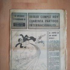 Coleccionismo deportivo: ATHLETIC BILBAO. IRIBAR. 40 PARTIDOS INTERNACIONALES. AÑO 1973. Lote 219856405