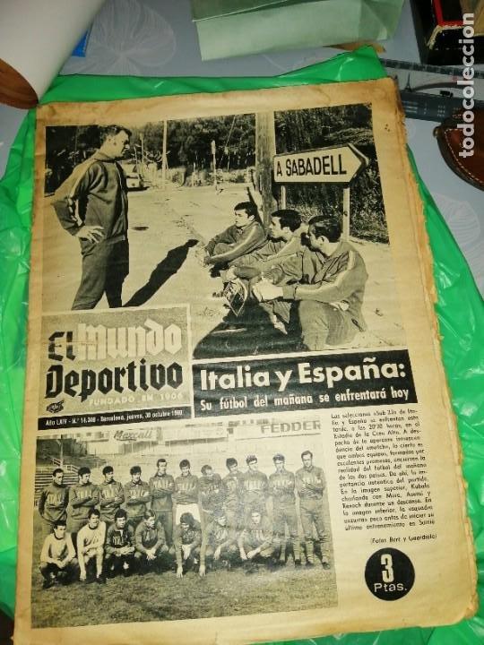 PERIÓDICO KUBALA Y LA, SELECCIÓN PARTIDO EN SABADELL (Coleccionismo Deportivo - Revistas y Periódicos - otros Fútbol)