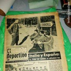 Coleccionismo deportivo: PERIÓDICO KUBALA Y LA, SELECCIÓN PARTIDO EN SABADELL. Lote 219906478