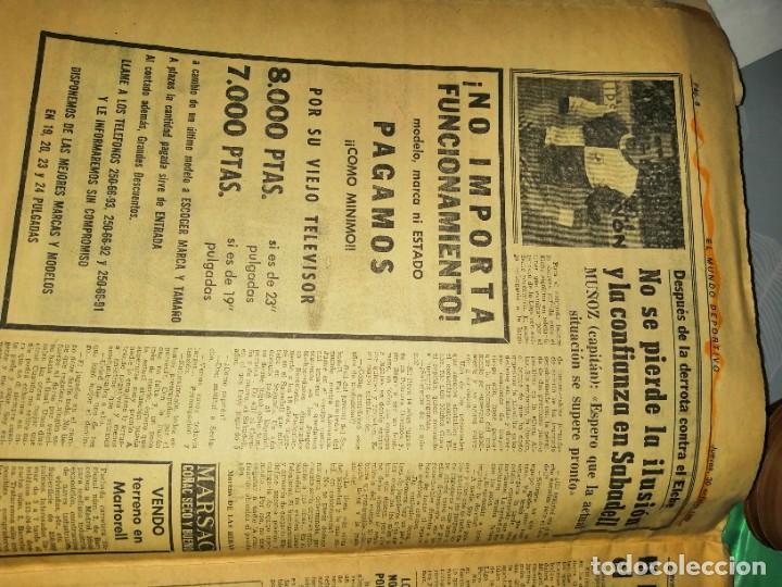 Coleccionismo deportivo: Periódico kubala y la, selección partido en sabadell - Foto 2 - 219906478