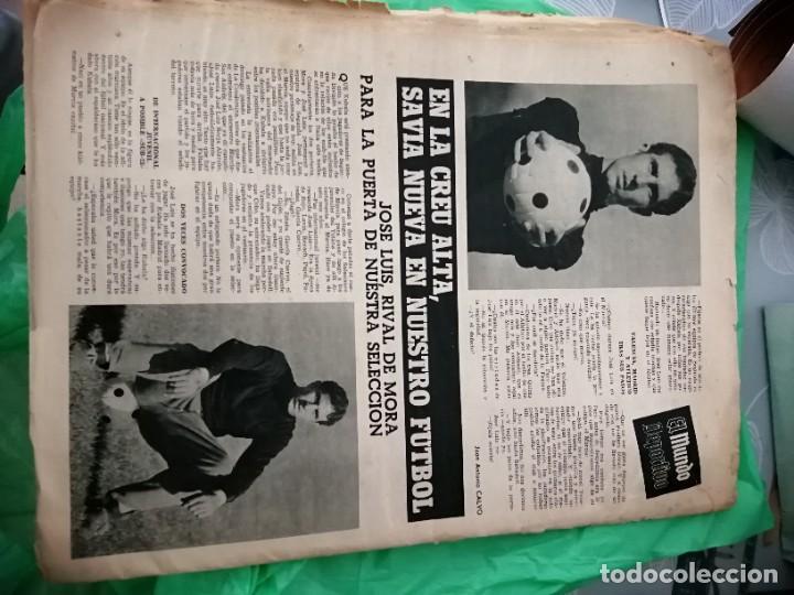 Coleccionismo deportivo: Periódico kubala y la, selección partido en sabadell - Foto 3 - 219906478