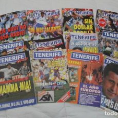 Coleccionismo deportivo: LOTE 12 REVISTAS TENERIFE HOY. CD TENERIFE. FÚTBOL PRIMERA DIVISIÓN.. Lote 102616147