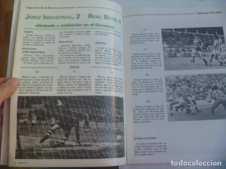 Coleccionismo deportivo: REVISTA TODO BETIS , Nº 0 , TEMPORADA 1079 / 80 . OCTUBRE 1979. INCLUYE POSTER - Foto 3 - 220298512
