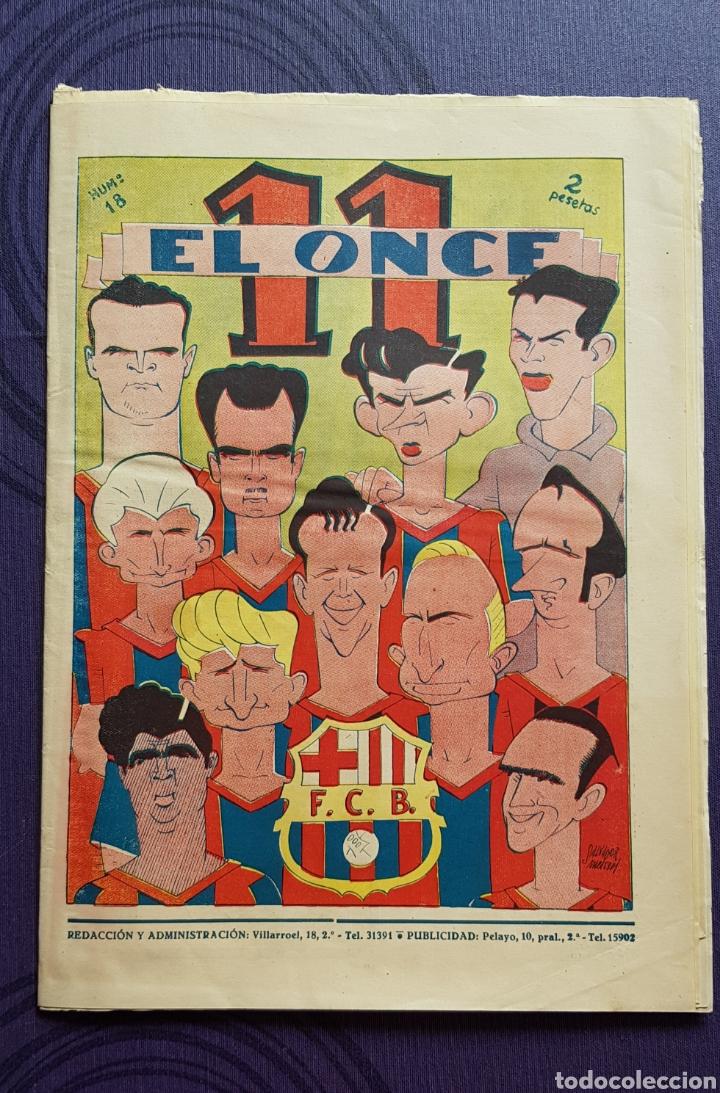 REVISTA - PERIODICO EL ONCE AÑOS 1945-1950 (Coleccionismo Deportivo - Revistas y Periódicos - otros Fútbol)