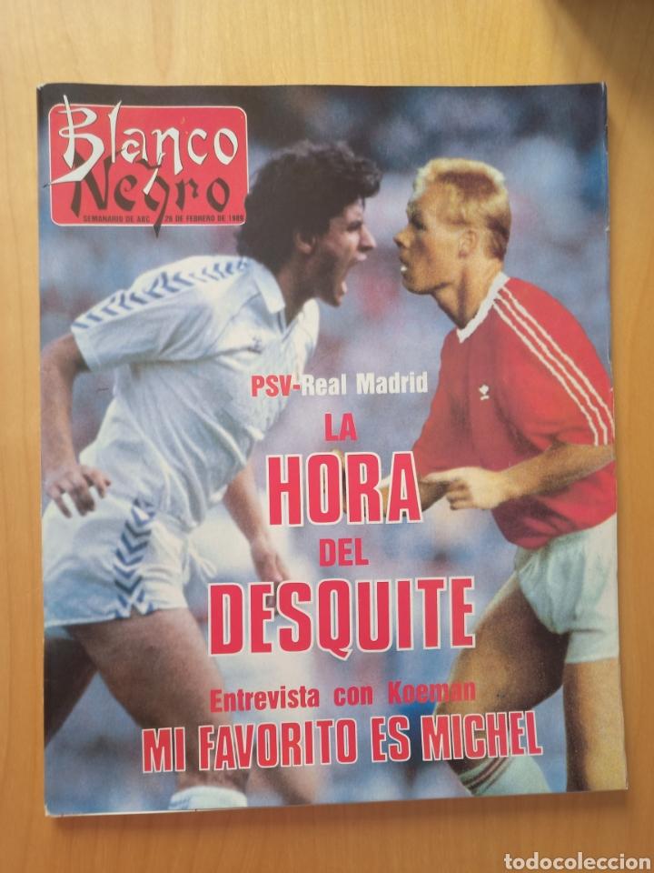 1989 PSV - REAL MADRID KOEMAN MICHEL: REVISTA CON REPORTAJE COPA DE EUROPA (Coleccionismo Deportivo - Revistas y Periódicos - otros Fútbol)