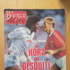 Coleccionismo deportivo: 1989 PSV - REAL MADRID KOEMAN MICHEL: REVISTA CON REPORTAJE COPA DE EUROPA. Lote 221111193