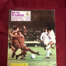 Collectionnisme sportif: REVISTA MENSUAL REAL MADRID 1975 CON PÓSTER. Lote 221302971