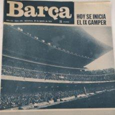 Collectionnisme sportif: REVISTA BARÇA NÚM 979 20 AGOSTO 1974. Lote 221478076