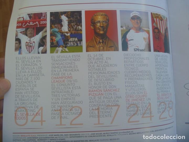 Coleccionismo deportivo: REVISTA OFICIAL DEL SEVILLA F.C. , FOOTBALL CLUB. Nº 18, DICIEMBRE 2009 - Foto 2 - 221587673