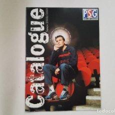 Coleccionismo deportivo: REVISTA / CATÁLOGO TIENDA OFICIAL PARIS SAINT GERMAIN (PSG) 2000/2001. Lote 221676817