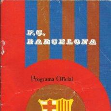 Coleccionismo deportivo: F. C. BARCELONA. PROGRAMA OFICIAL. GRANADA F. C. ARTOLA. 1975. 21X13,5 CM. 24 PÁGINAS. BUEN ESTADO.. Lote 221696812