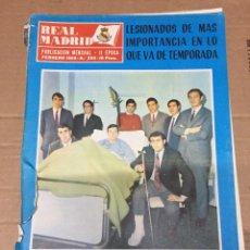 Coleccionismo deportivo: REVISTA OFICIAL REAL MADRID # 225 FEBRERO 1969 CAMPEON BALONCESTO IV TORNEO PHILIPS. Lote 221866472