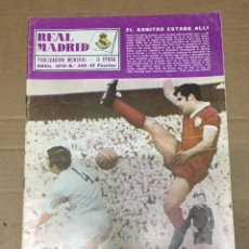 Coleccionismo deportivo: REVISTA OFICIAL REAL MADRID # 239 ABRIL 1970 LA LIGA EN ACCION VALENCIA CAMPEON LIGA BALONCESTO. Lote 221866550