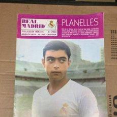 Coleccionismo deportivo: REVISTA OFICIAL REAL MADRID # 243 AGOSTO 1970 PLANELLES HISTORIA DE LA RECOPA. Lote 221867002