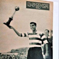 Coleccionismo deportivo: 2 TOMOS,50 REVISTAS,IDOLOS DEL DEPORTE,AÑOS 1956 Y 1957,FUTBOL Y OTROS ASES PORTUGAL,TODO FOTOGRAFIA. Lote 221882466