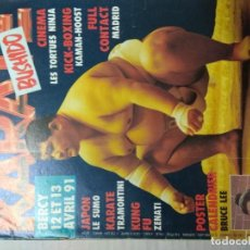 Coleccionismo deportivo: REVISTA FRANCESA ARTES MARCIALES KÁRATE BUSHIDO AÑOS 90. Lote 221921435