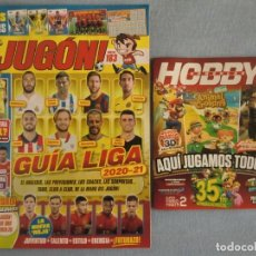 Coleccionismo deportivo: REVISTA JUGÓN Nº 163 DE PANINI, OCTUBRE DE 2020 + GUÍA HOBBY CONSOLAS. NUEVAS. Lote 222083976