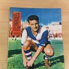 Coleccionismo deportivo: REVISTA DICEN AÑO XI Nº 524 - 1 FEBRERO 1963 - TIN, DE CD SABADELL. Lote 222086893