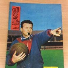 Coleccionismo deportivo: REVISTA DICEN AÑO XI Nº 526 - 15 FEBRERO 1963 - GONZALVO, ENTRENADOR CF BARCELONA Y ¡ SVEN HASSEL!. Lote 222086990