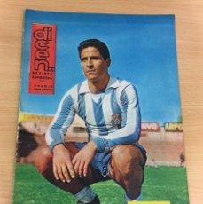 Coleccionismo deportivo: REVISTA DICEN AÑO XI Nº 529 - 8 MARZO 1963 - IDÍGORAS, DEL RCD ESPAÑOL. Lote 222087141