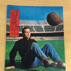 Coleccionismo deportivo: REVISTA DICEN AÑO XI Nº 530 - 15 MARZO 1963 - RODRI, DEL CF BARCELONA - FCB. Lote 222087180