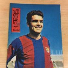 Coleccionismo deportivo: REVISTA DICEN AÑO XI Nº 537 - 3 MAYO 1963 - FONCHO OTRA VEZ, DEFENSA DEL CF BARCELONA - FCB. Lote 222087437