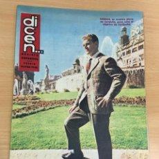 Coleccionismo deportivo: REVISTA DICEN AÑO IX Nº 383 - 1 ABRIL 1960 - KUBALA DEL CF BARCELONA - FCB. Lote 222087912