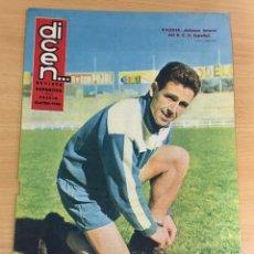 Coleccionismo deportivo: REVISTA DICEN AÑO IX Nº 382 - 25 MARZO 1960 - DAUDER, DEFENSA DEL RCD ESPAÑOL. Lote 222088687