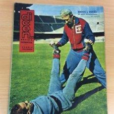 Coleccionismo deportivo: REVISTA DICEN AÑO X Nº 423 - 20 ENERO 1961 - LUISITO SUÁREZ ENTRENANDO CON BROCIC. Lote 222088727