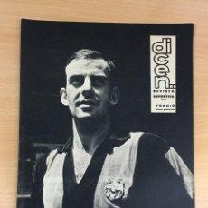 Coleccionismo deportivo: REVISTA DICEN AÑO XI Nº 555 - 20 SEPTIEMBRE 1963 - PEREDA DEL CF BARCELONA Y ENTREVISTA A KUBALA. Lote 222115357