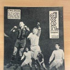 Coleccionismo deportivo: REVISTA DICEN AÑO XI Nº 556 - 27 SEPTIEMBRE 1963 - CF BARCELONA VS. SHELBORNE. Lote 222116090