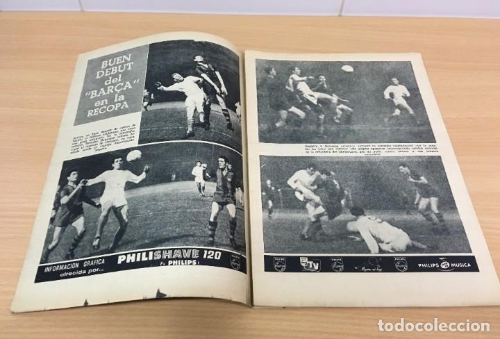 Coleccionismo deportivo: REVISTA DICEN AÑO XI Nº 556 - 27 SEPTIEMBRE 1963 - CF BARCELONA VS. SHELBORNE - Foto 4 - 222116090