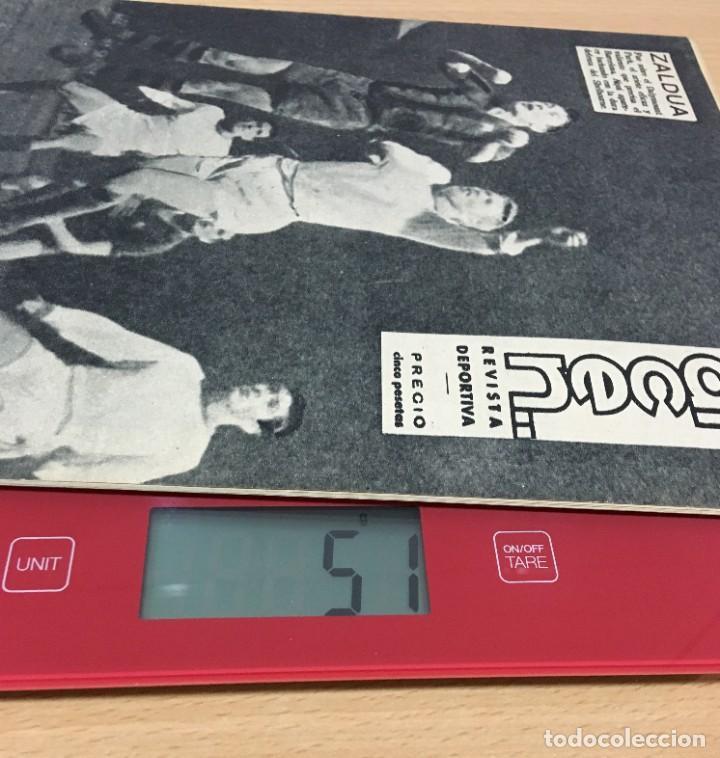 Coleccionismo deportivo: REVISTA DICEN AÑO XI Nº 556 - 27 SEPTIEMBRE 1963 - CF BARCELONA VS. SHELBORNE - Foto 5 - 222116090