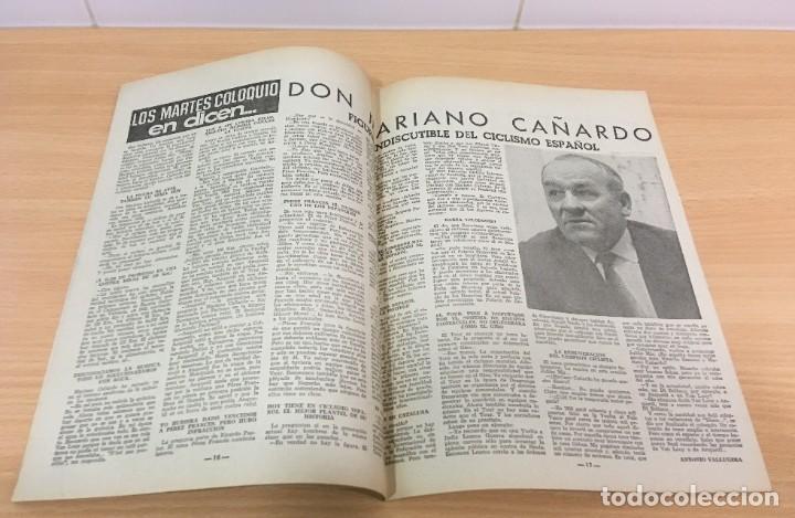 Coleccionismo deportivo: REVISTA DICEN AÑO XI Nº 540 - 24 MAYO 1963 - EL RCD ESPAÑOL OTRA VEZ EN PRIMERA DIVISIÓN - Foto 4 - 222116503