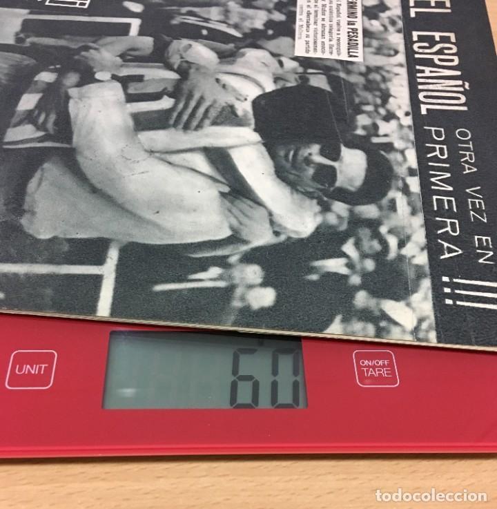 Coleccionismo deportivo: REVISTA DICEN AÑO XI Nº 540 - 24 MAYO 1963 - EL RCD ESPAÑOL OTRA VEZ EN PRIMERA DIVISIÓN - Foto 5 - 222116503