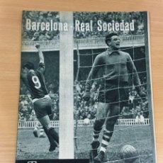 Coleccionismo deportivo: REVISTA DICEN AÑO VIII Nº 363 - 14 NOVIEMBRE 1959 - PRE PARTIDO CF BARCELONA REAL SOCIEDAD - FCB. Lote 222118522