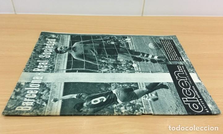 Coleccionismo deportivo: REVISTA DICEN AÑO VIII Nº 363 - 14 NOVIEMBRE 1959 - PRE PARTIDO CF BARCELONA REAL SOCIEDAD - FCB - Foto 2 - 222118522