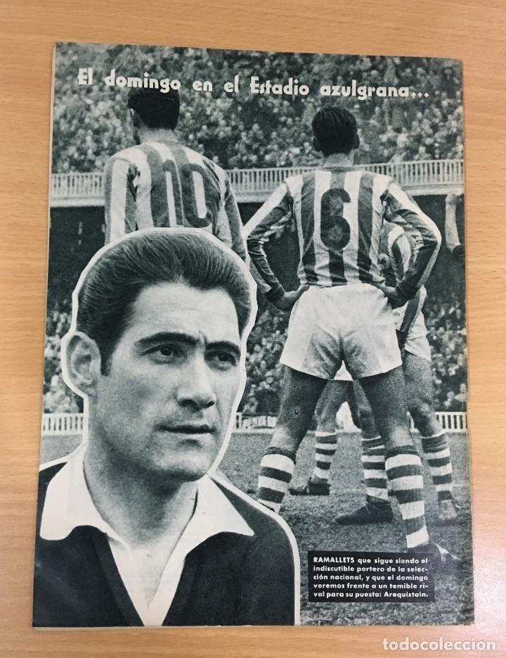 Coleccionismo deportivo: REVISTA DICEN AÑO VIII Nº 363 - 14 NOVIEMBRE 1959 - PRE PARTIDO CF BARCELONA REAL SOCIEDAD - FCB - Foto 3 - 222118522
