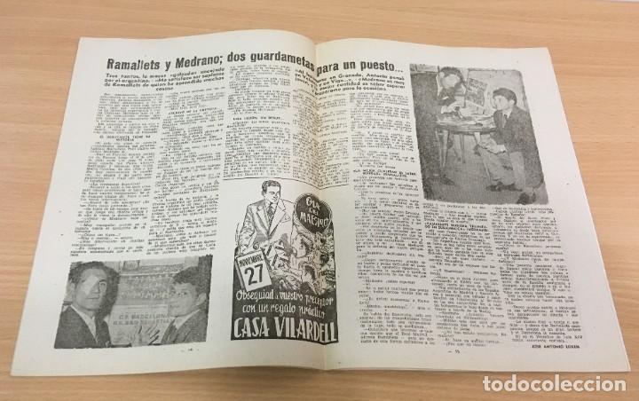 Coleccionismo deportivo: REVISTA DICEN AÑO VIII Nº 363 - 14 NOVIEMBRE 1959 - PRE PARTIDO CF BARCELONA REAL SOCIEDAD - FCB - Foto 4 - 222118522