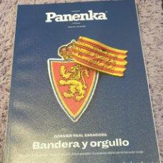 Collectionnisme sportif: PANENKA 95. REAL ZARAGOZA. BANDERA Y ORGULLO. Lote 222118736